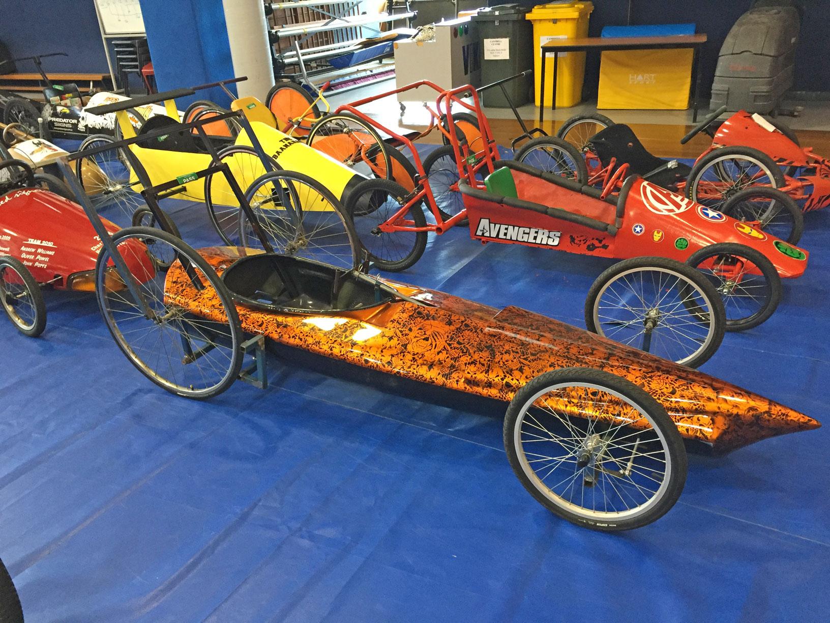 Ashton's billy cart