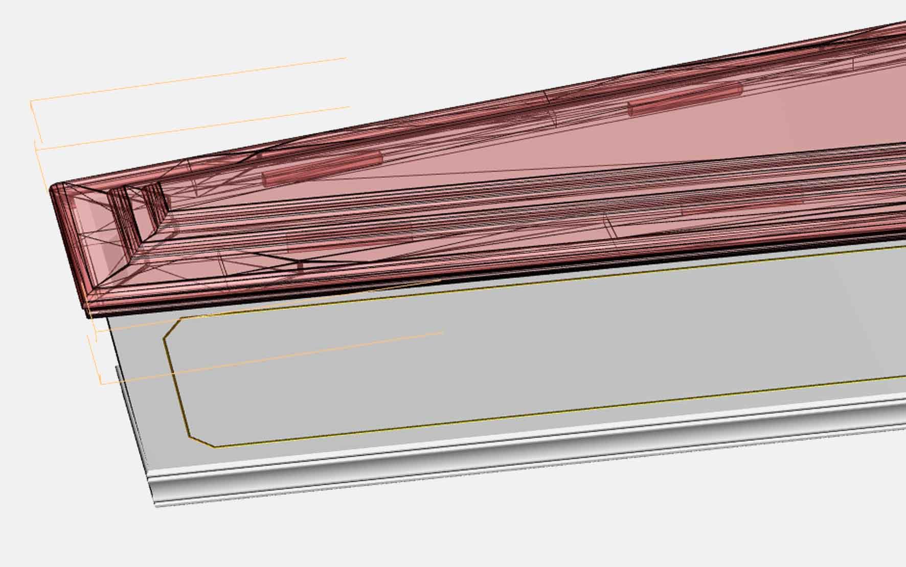 3D CAD drawing 3