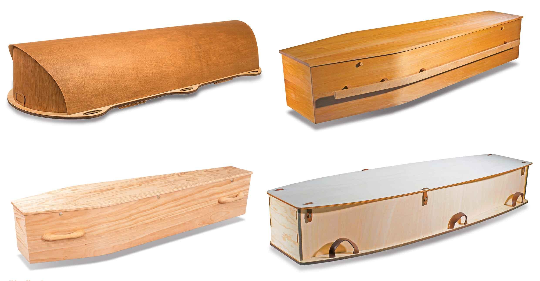 4 Return To Sender coffins