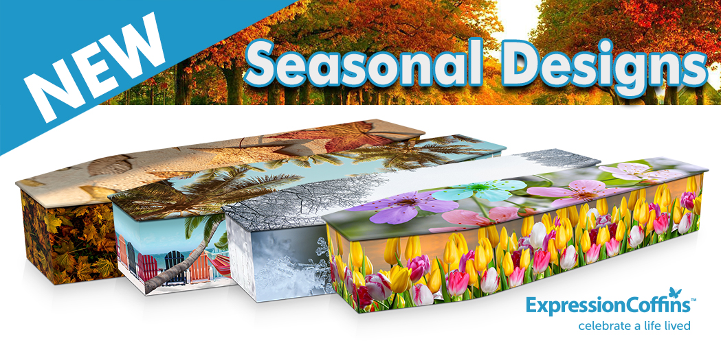 New Season Designs at Expression Coffins