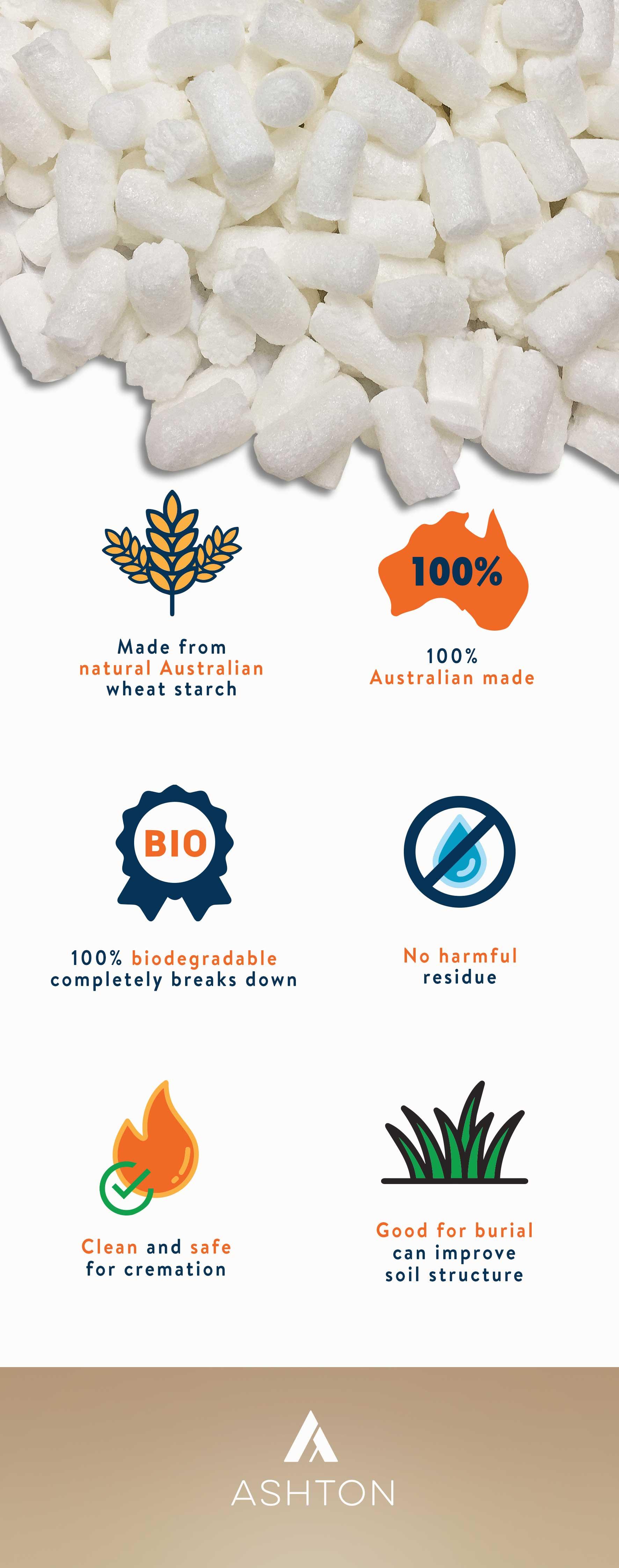 infographic pillow filler
