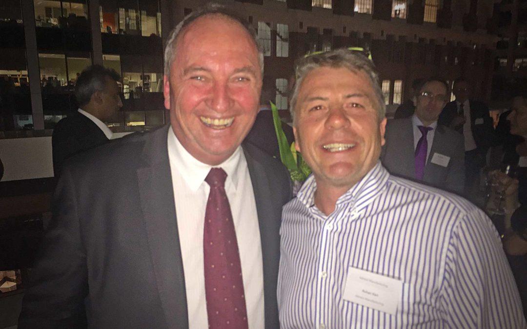Rohan Kerr & Barnaby Joyce