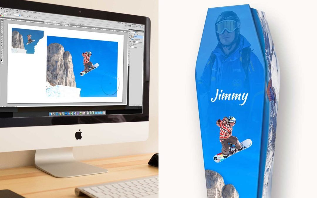 Personalised Expression Coffin (snowboarding)