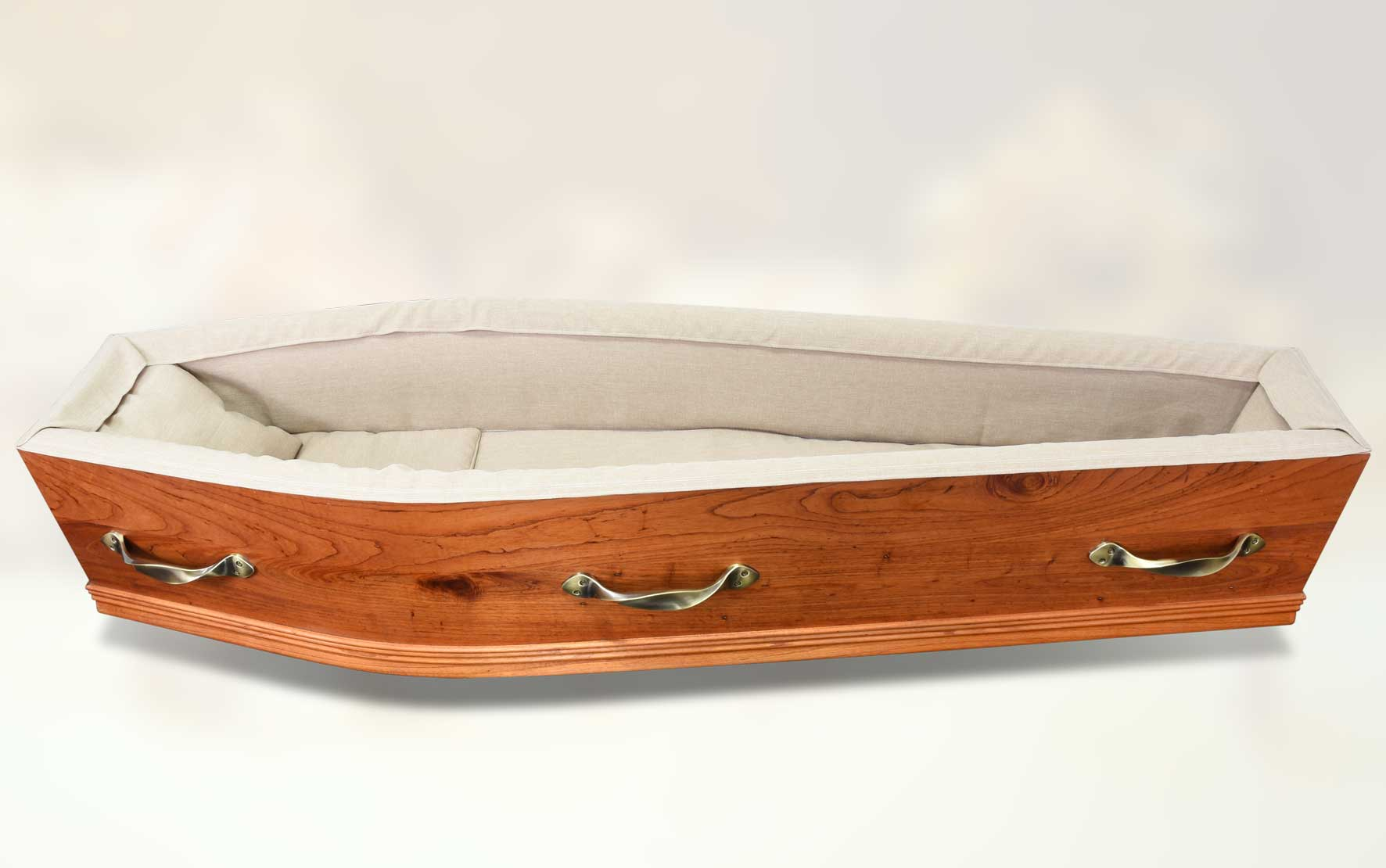Ashdale Outback coffin (side on interior view)