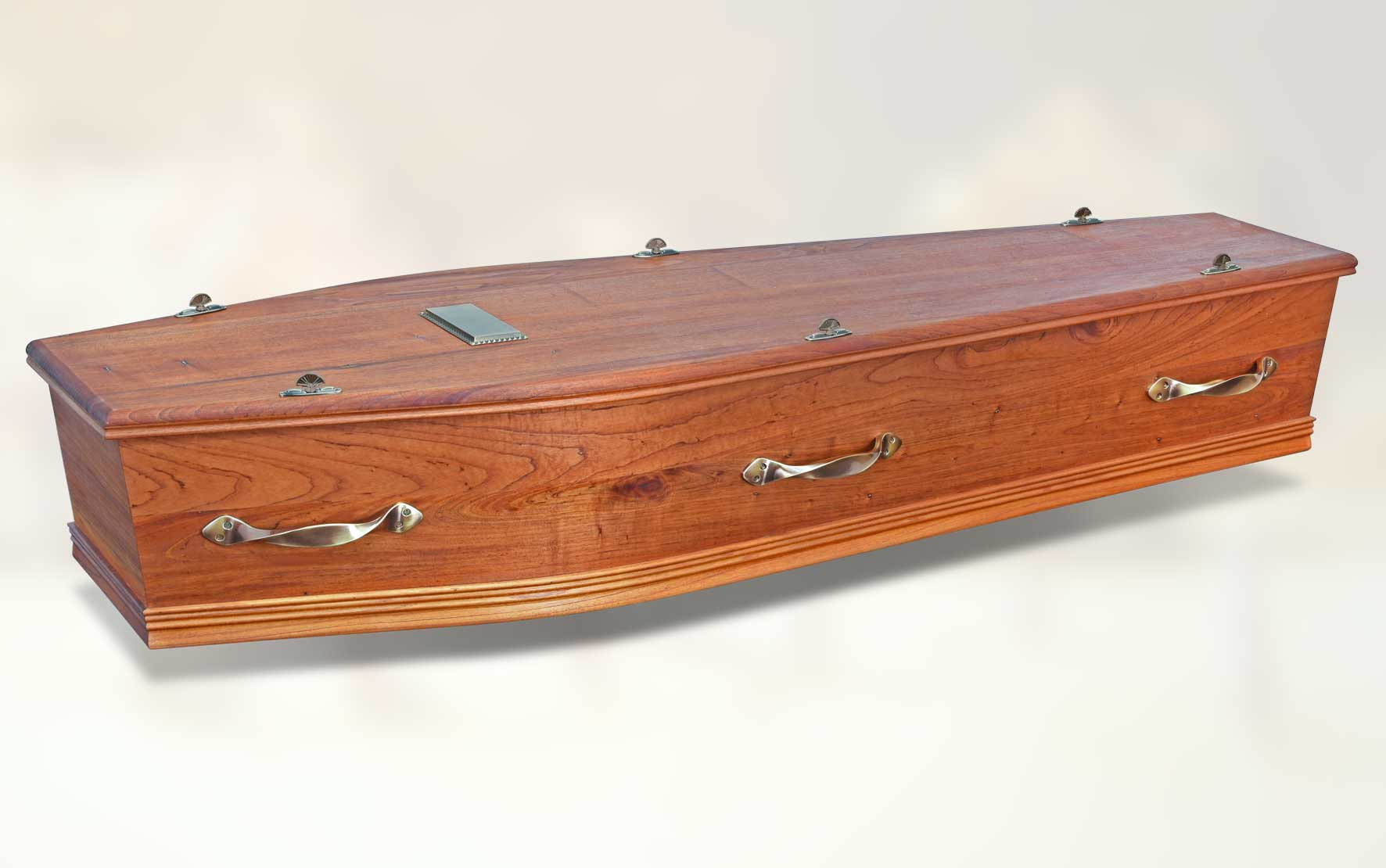 Ashdale Outback coffin (side view)