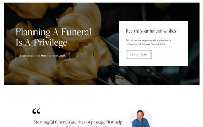 New website launched — A Meaningful Funeral